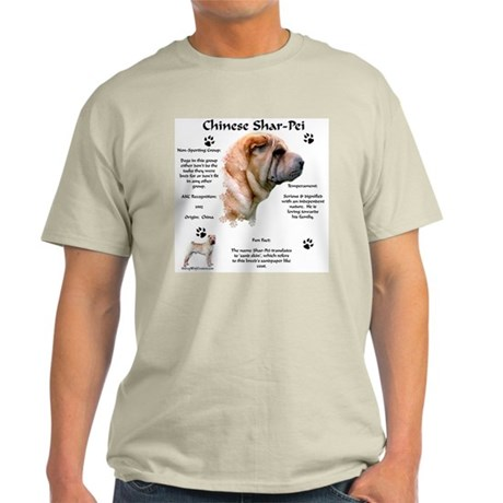 SharPei 1 Ash Grey T-Shirt