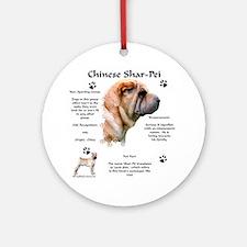 SharPei 1 Ornament (Round)