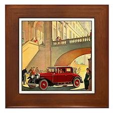 Unique Automobiles Framed Tile