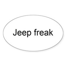 jeep freak Decal