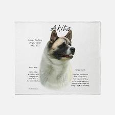 Akito (Pinto) Throw Blanket