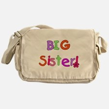 Bright Colors Big Sister Messenger Bag