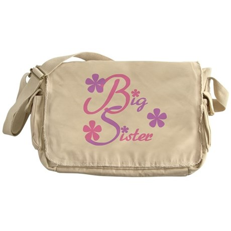 Big Sister Pastels Messenger Bag
