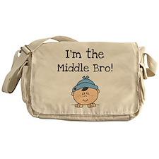 I'm the Middle Bro Messenger Bag