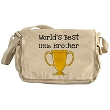 World's Best Little Brother Messenger Bag