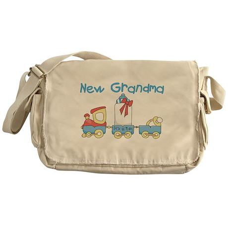 Train New Grandma Messenger Bag