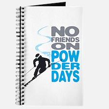 No Friends On Powder Days Journal