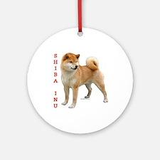 Shiba 2 Ornament (Round)