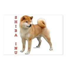 Shiba 2 Postcards (Package of 8)