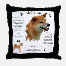Shiba 1 Throw Pillow