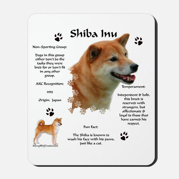 Shiba 1 Mousepad