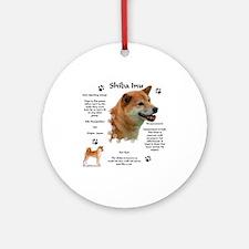 Shiba 1 Ornament (Round)