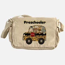 Zoo Animals Preschool Messenger Bag