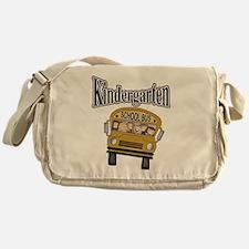School Bus Kindergarten Messenger Bag