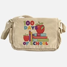 Books 100 Days Messenger Bag