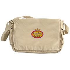 Scrapbook Queen Crown Messenger Bag