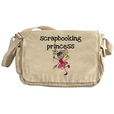 Scrapbooking Princess Messenger Bag