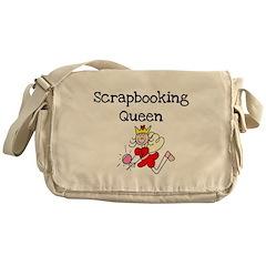 Scrapbooking Queen Messenger Bag