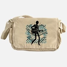 Guitar Player Messenger Bag