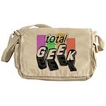 Cool Colors Total Geek Messenger Bag