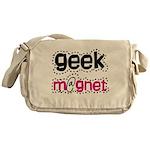 Geek Magnet Messenger Bag
