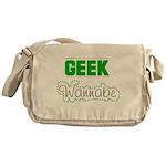 geek Wannabe Messenger Bag