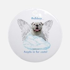 Bulldog 6 Ornament (Round)