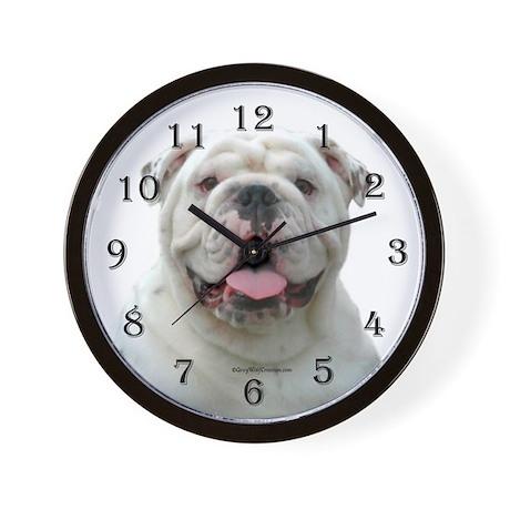 Bulldog 5 Wall Clock
