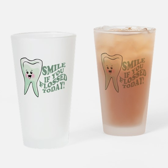 Funny Dentist Humor Drinking Glass