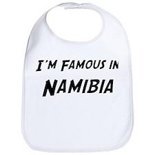 Famous in Namibia Bib