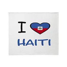 Unique Haiti Throw Blanket