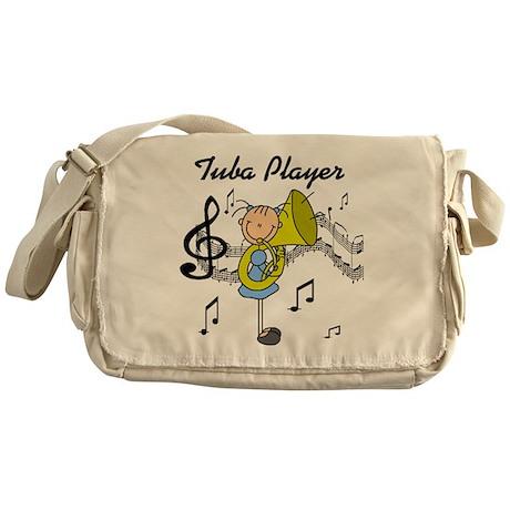 Tuba Player Messenger Bag