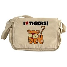 I Love Tigers Messenger Bag