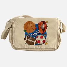 All Star Sports Messenger Bag