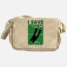 Soccer I Save Messenger Bag