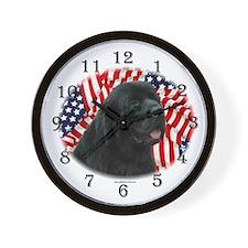 Newf 5 Wall Clock