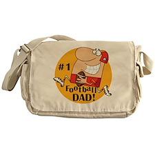 Football Dad Messenger Bag