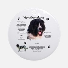 Newf 6 Ornament (Round)