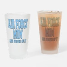 Air Force Mom Drinking Glass