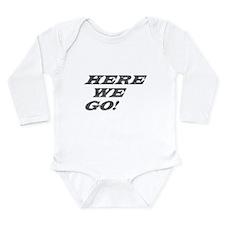 Logo Long Sleeve Infant Bodysuit