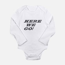 Cool Exclamation Long Sleeve Infant Bodysuit