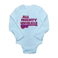 Ukulele Long Sleeve Infant Bodysuit