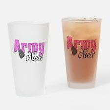 Army Niece Drinking Glass