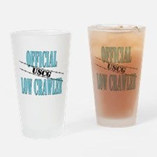 Official USCG Low Crawler Drinking Glass