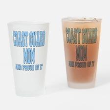 Coast Guard Mom Proud of it Drinking Glass