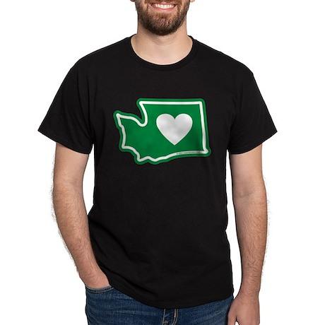 Heart in Washington Dark T-Shirt