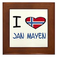 Cute Jan Framed Tile