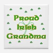 Proud Irish Grandma Tile Coaster