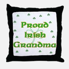 Proud Irish Grandma Throw Pillow