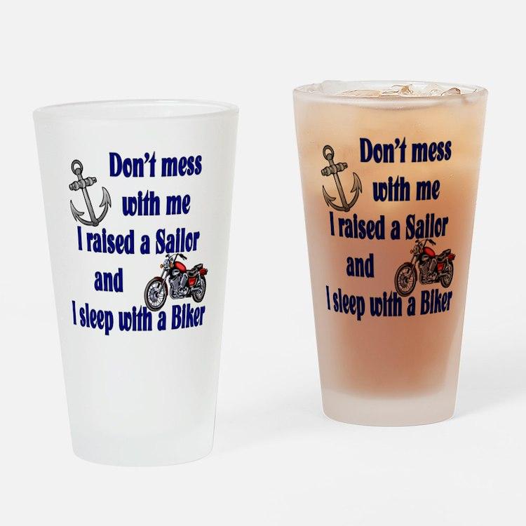 Raised a Sailor Sleep with a Drinking Glass
